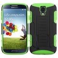 BasAcc Black/ Green Car Armor Stand Case for Samsung I337 Galaxy S4