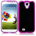 BasAcc Black/ Hot Pink TPU Case for Samsung Galaxy S4 i9500