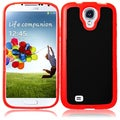 BasAcc Black/ Red TPU Case for Samsung Galaxy S4 i9500