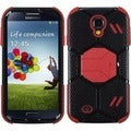 BasAcc Black/Red Beehive Hybrid Case for Samsung Galaxy S4 1337
