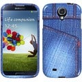 BasAcc Blue Jeans/ Studs Case for Samsung Galaxy S4