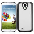 BasAcc Clear/ Solid Black Gummy Case for Samsung� Galaxy S4 i9500