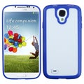 BasAcc Clear/Solid Dark Blue Gummy Case for Samsung� Galaxy S4 I9500