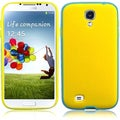 BasAcc Cool Blue/ Yellow TPU Case for Samsung Galaxy S4 i9500