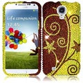 BasAcc Elegant Swirl Diamond Case for Samsung Galaxy S4 i9500