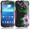 BasAcc Green Flower Case for Samsung Galaxy S4 Active i537