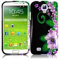 BasAcc Green Flower Case for Samsung Galaxy S4 i9500