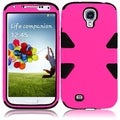 BasAcc Hot Pink/ Black Case for Samsung Galaxy S4 i9500