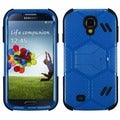 BasAcc Natural Blue/ Black Beehive Case for Samsung Galaxy S4