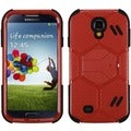 BasAcc Natural Red/ Black Beehive Case for Samsung Galaxy S4