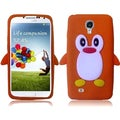 BasAcc Orange Penguin Silicone Case for Samsung Galaxy S4 i9500