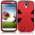 BasAcc Red/ Black Case for Samsung Galaxy S4 i9500