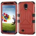 BasAcc Red/ Black TUFF Hybrid Stand Case for Samsung Galaxy S4