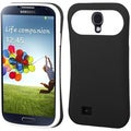 BasAcc Rubberized Black/ White Back Case for Samsung� Galaxy S4 i9500