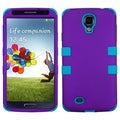 BasAcc Rubberized Grape/ Tropical Teal TUFF Case for Samsung Galaxy S4