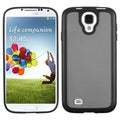 BasAcc Smoke/ Solid Black Gummy Case for Samsung� Galaxy S4 i9500