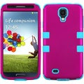 BasAcc Solid Hot Pink/ Teal TUFF Case for Samsung Galaxy S4 I337