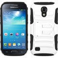 BasAcc White/ Black Case with Stand for Samsung Galaxy S4 Mini