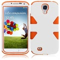 BasAcc White/ Orange Case for Samsung Galaxy S4 i9500