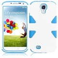 BasAcc White/ Sky Blue Case for Samsung Galaxy S4 i9500