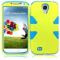 BasAcc Yellow/ Sky Blue Case for Samsung Galaxy S4 i9500