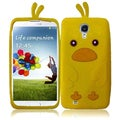 BasAcc Yellow Funny Duck Silicon Case for Samsung Galaxy S4 i9500