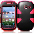 BasAcc Black/ Red Case for Samsung Galaxy Centura S738C/ S730G