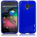 BasAcc Blue Frosted TPU Case for Motorola Moto X