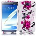 BasAcc Purple Lily Case for Samsung Galaxy S Note 2 N7100