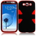 BasAcc Black/ Red Case for Samsung Galaxy S3 i9300/ i747/ L710/ T999
