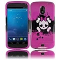 BasAcc Pink Skull Case for Samsung i515 Galaxy Nexus