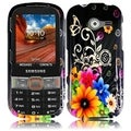 BasAcc Chromatic Flower Case for Samsung Array/ Montage M390
