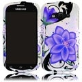 BasAcc Violet Lily Case for Samsung Galaxy Reverb M950