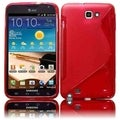 BasAcc Red Case for Samsung Galaxy Note N7000/ i717/ i9220