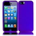 BasAcc Purple Case for Apple iPhone 5