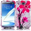 BasAcc Pink Splash Case for Samsung Galaxy S Note 2 N7100