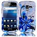 BasAcc Blue Splash Case for Samsung Galaxy Exhilarate i577