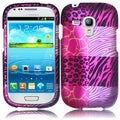 BasAcc Pink Exotic Skins Case for Samsung Galaxy S III mini i8190