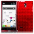 BasAcc Red TPU Case for LG Optimus L9 P769T