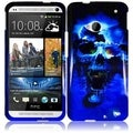 BasAcc Blue Skull Case for HTC One M7
