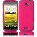 BasAcc Hot Pink Silicone Case for HTC One S