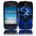 BasAcc Blue Skull Case for Samsung Exhibit 4G T759