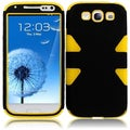 BasAcc Black/ Yellow Case for Samsung Galaxy S3 i9300/ i747/ L710