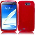 BasAcc Red TPU Case for Samsung Galaxy Note 2 N7100