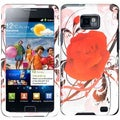 BasAcc Rosy Rose Case for Samsung Galaxy S 2 II/ i9100 Attain i777