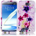 BasAcc Elite Flower Case for Samsung Galaxy S Note 2 N7100