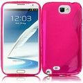BasAcc Hot Pink TPU Case for Samsung Galaxy S Note 2 N7100