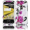 BasAcc Purple Lily Case for Samsung Galaxy Attain 4G R920