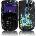 BasAcc Blue Flower Case for Samsung Freeform 2 R360/ R375C