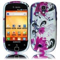 BasAcc Purple Lily Case for Samsung Gravity Smart T589